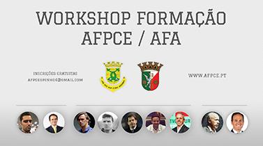 Workshop de formação AFPCE/AFA